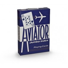 Baralho Aviator Jumbo Index  Azul