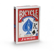 Baralho Bicycle Jumbo Index Vermelho
