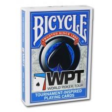 Baralho Bicycle Poker WPT Azul