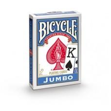 Baralho Bicycle Jumbo Index Azul