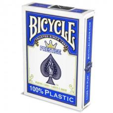 Baralho Bicycle Prestige 100% Plástico Azul