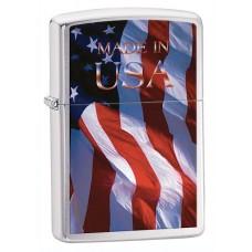 Isqueiro Zippo Made In Usa Flag 24797