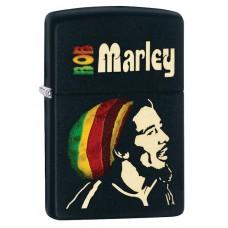 Isqueiro Zippo Preto Bob Marley 28426