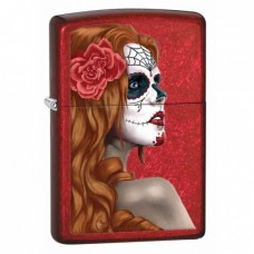 Isqueiro Zippo Day Of Dead Gril 28830